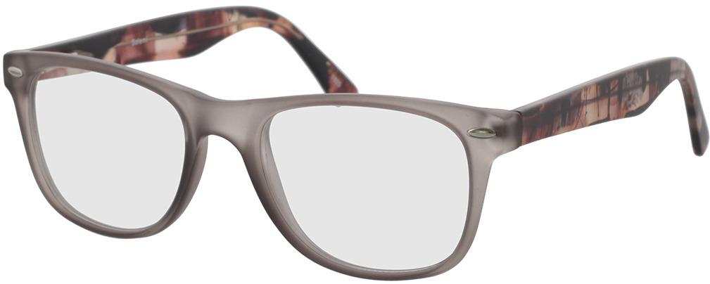 Picture of glasses model Salemi-grau-transparent in angle 330