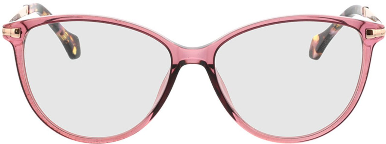Picture of glasses model Eucla-pink/gold in angle 0