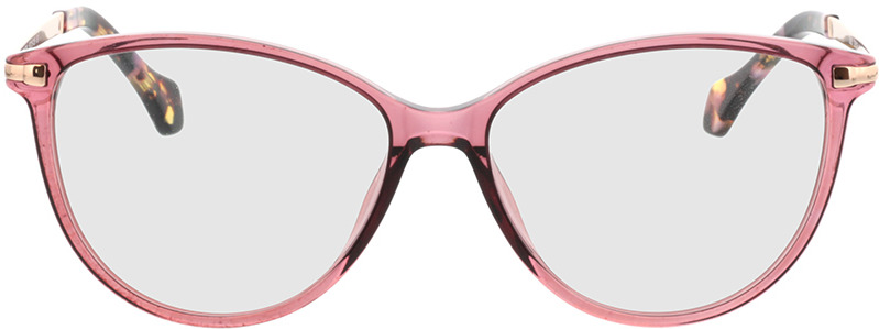 Picture of glasses model Eucla roos/Goud in angle 0
