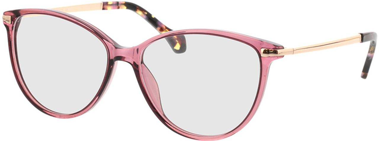 Picture of glasses model Eucla-pink/gold in angle 330