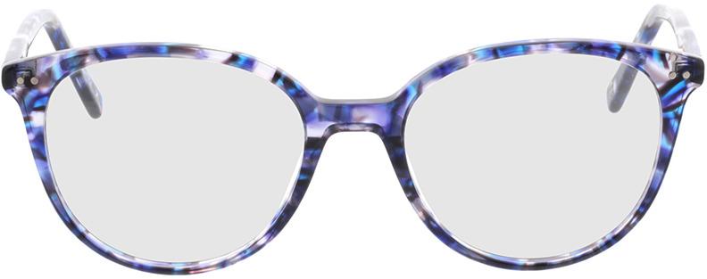 Picture of glasses model Olivia-blau/lila in angle 0