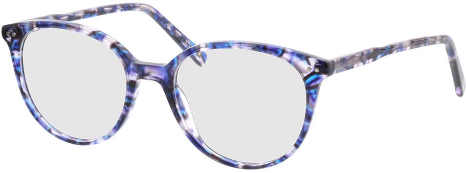 Picture of glasses model Olivia-blau/lila in angle 330