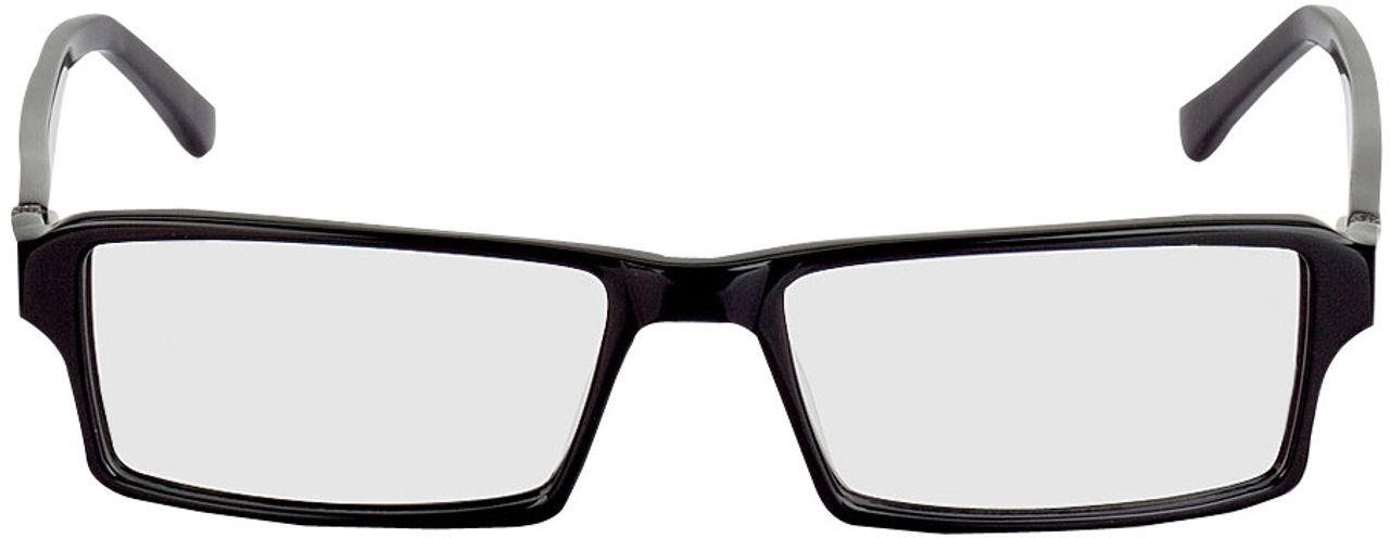 Picture of glasses model Tartus-schwarz in angle 0
