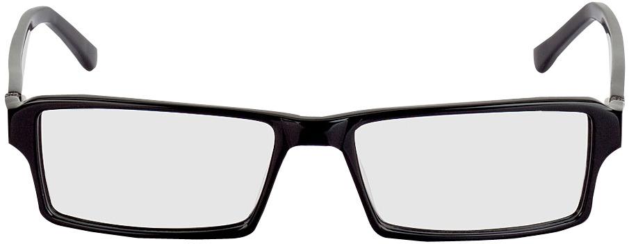 Picture of glasses model Tartus zwart in angle 0