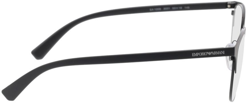 Picture of glasses model Emporio Armani EA1059 3001 53-19 in angle 90