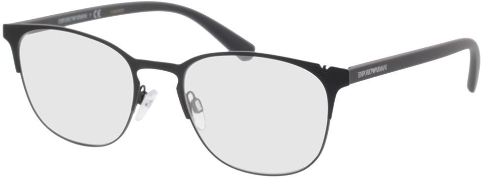 Picture of glasses model Emporio Armani EA1059 3001 53-19 in angle 330