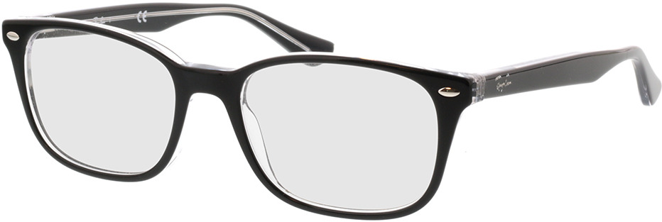 Picture of glasses model Ray-Ban RX5375 2034 53-18 in angle 330
