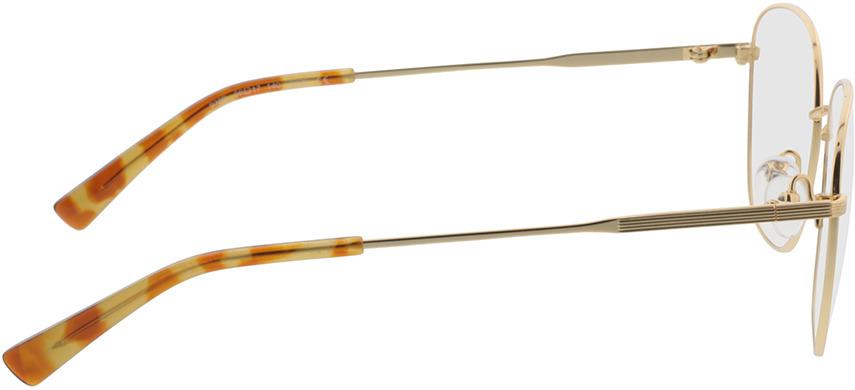 Picture of glasses model Selene Goud/havana in angle 90