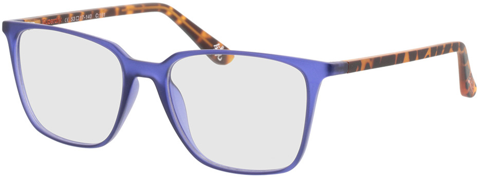 Picture of glasses model Superdry SDO Lexia 161 blue/havana 53-17 in angle 330