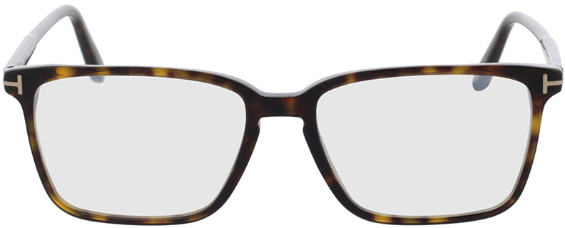 Picture of glasses model Tom Ford FT5696-B 052 54-16 in angle 0