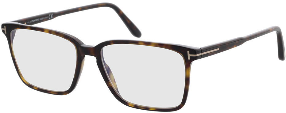 Picture of glasses model Tom Ford FT5696-B 052 54-16 in angle 330