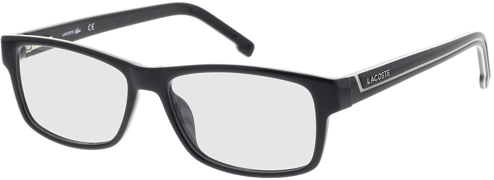 Picture of glasses model Lacoste L2707 001 53-15 in angle 330