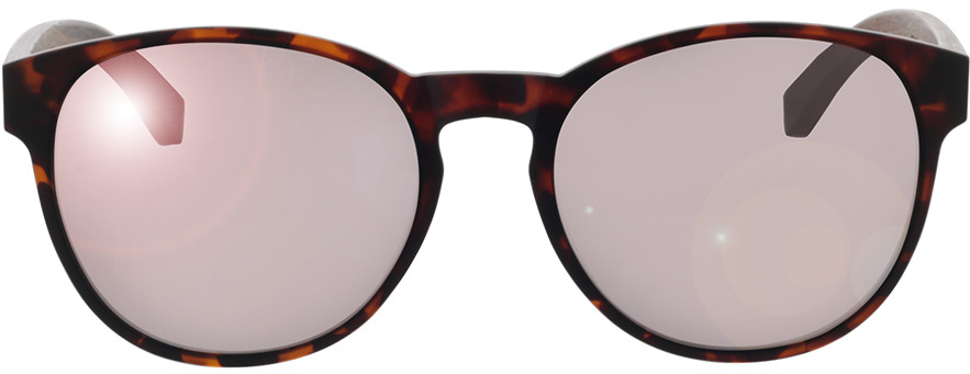 Picture of glasses model TAKE A SHOT The Red Queen: Walnussholz 54-19 in angle 0