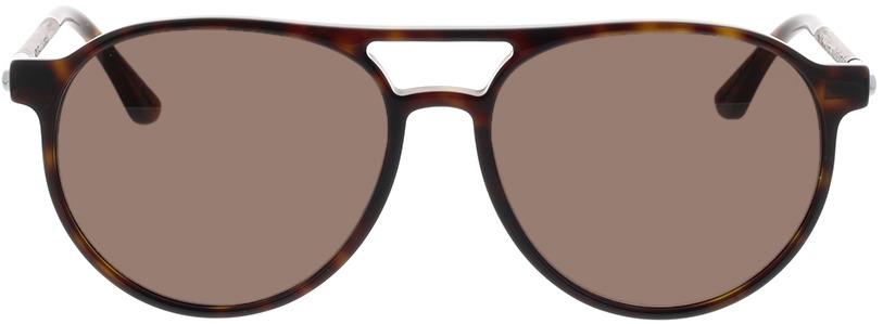 Picture of glasses model Wood Fellas Sunglasses Burgau noir chêne/havana 56-16 in angle 0