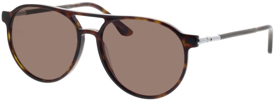 Picture of glasses model Wood Fellas Sunglasses Burgau noir chêne/havana 56-16 in angle 330