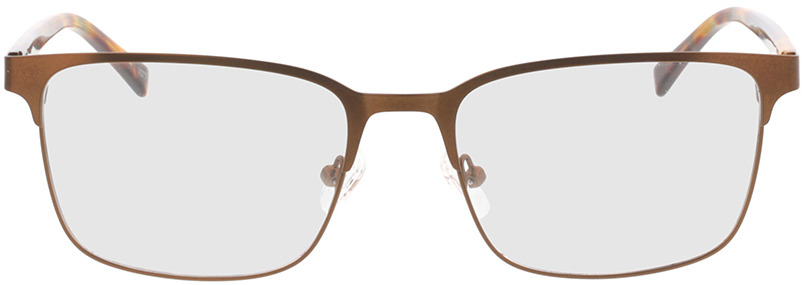 Picture of glasses model Viviano-braun/braun-meliert in angle 0