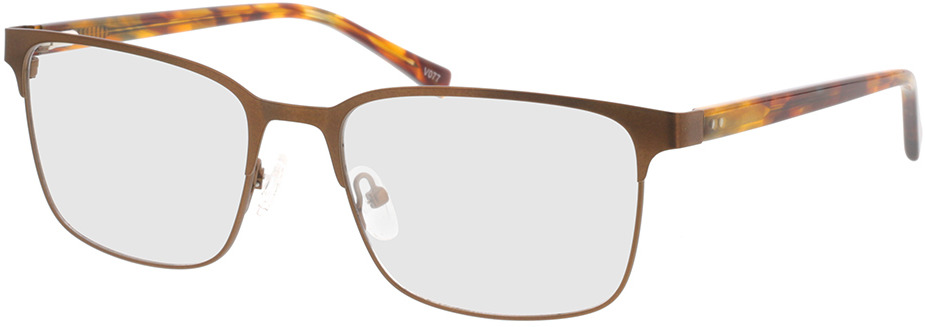 Picture of glasses model Viviano-braun/braun-meliert in angle 330