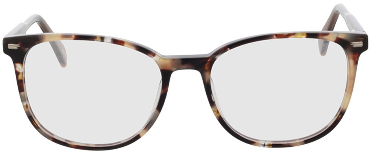 Picture of glasses model Katy-braun-meliert in angle 0