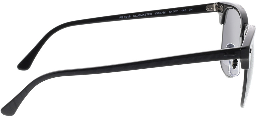 Picture of glasses model Ray-Ban RB3016 1305B1 51-21 in angle 90