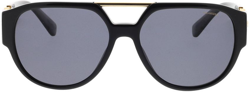 Picture of glasses model Versace VE4371 GB1/81 58-16 in angle 0