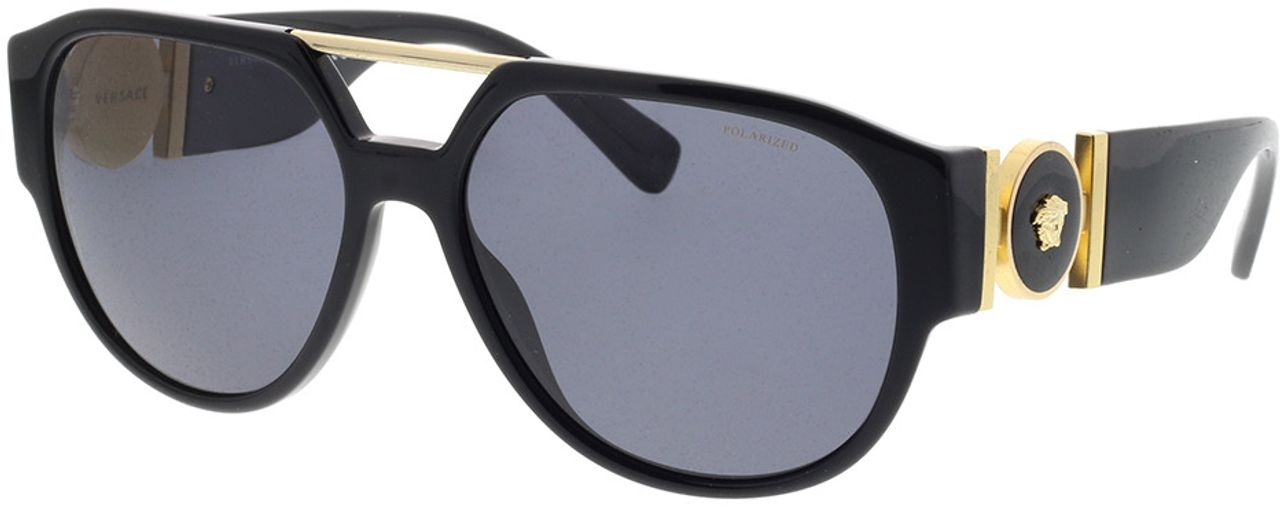 Picture of glasses model Versace VE4371 GB1/81 58-16 in angle 330