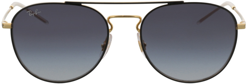 Picture of glasses model Ray-Ban RB3589 90548G 55-18 in angle 0