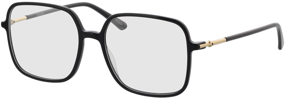 Picture of glasses model Donna-schwarz in angle 330