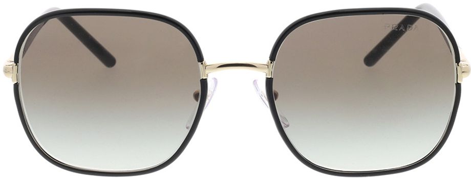 Picture of glasses model Prada PR 67XS AAV0A7 55-19 in angle 0