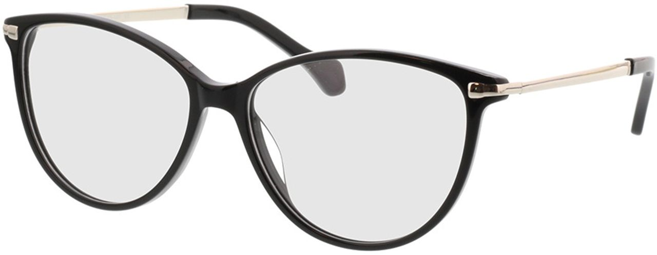 Picture of glasses model Eucla-schwarz/silber in angle 330