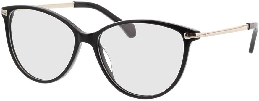 Picture of glasses model Eucla zwart/zilver in angle 330