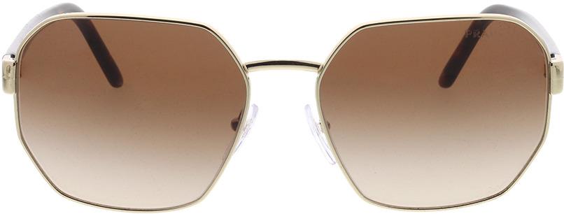 Picture of glasses model Prada PR 54XS ZVN6S1 59-17 in angle 0
