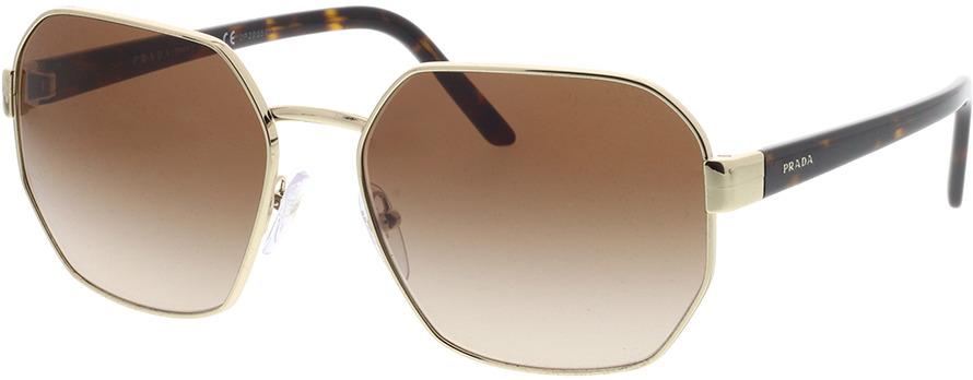 Picture of glasses model Prada PR 54XS ZVN6S1 59-17 in angle 330
