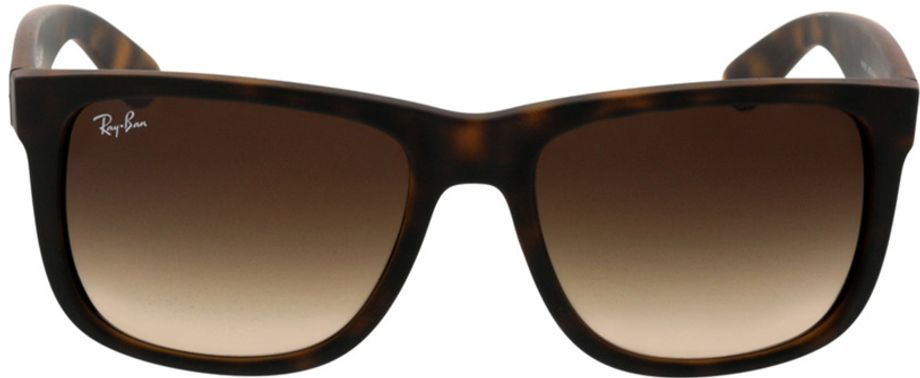 Picture of glasses model Ray-Ban Justin RB4165 710/13 54-16 in angle 0