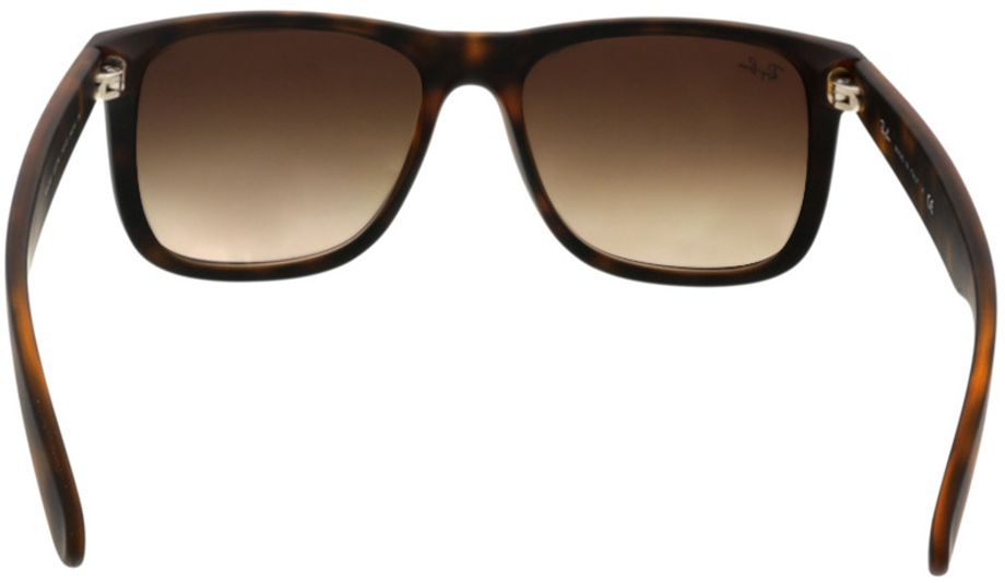 Picture of glasses model Ray-Ban Justin RB4165 710/13 54-16 in angle 180