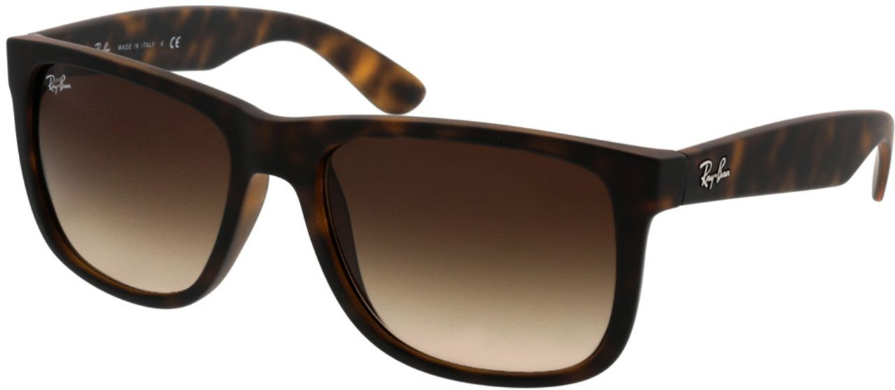 Picture of glasses model Ray-Ban Justin RB4165 710/13 54-16 in angle 330