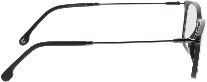 Picture of glasses model Carrera CARRERA 205 003 52-17 in angle 90