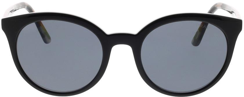 Picture of glasses model Prada PR 02XS 1AB5Z1 53-21 in angle 0