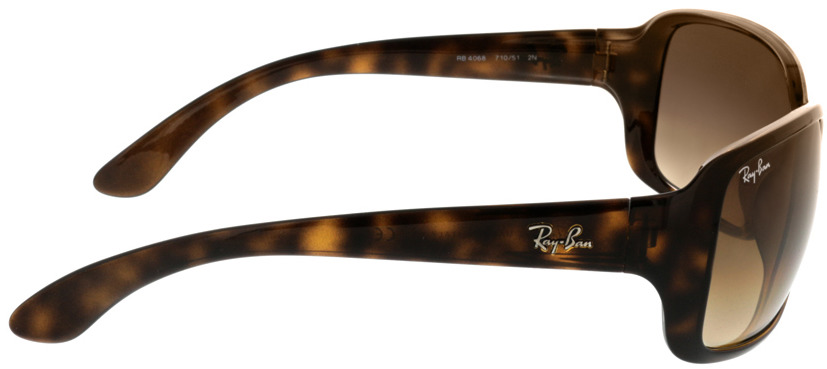 Picture of glasses model Ray-Ban RB4068 710/51 60-17 in angle 90