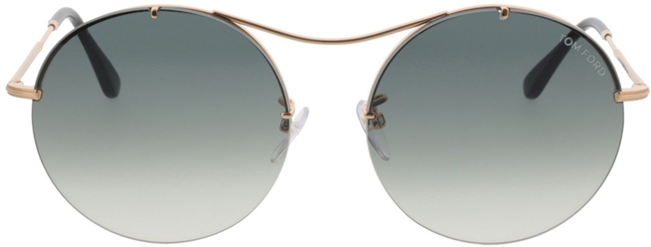 Picture of glasses model Tom Ford Veronique FT0565 28B  in angle 0