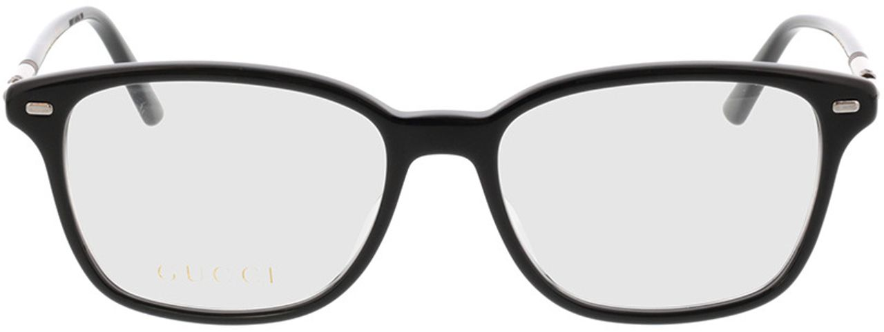Picture of glasses model Gucci GG0520O-001 53-17 in angle 0