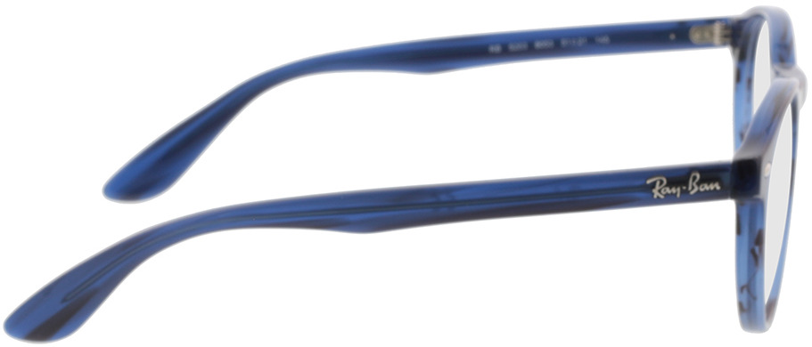Picture of glasses model Ray-Ban RX5283 8053 51-21 in angle 90