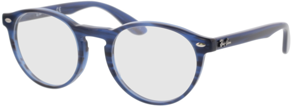 Picture of glasses model Ray-Ban RX5283 8053 51-21 in angle 330