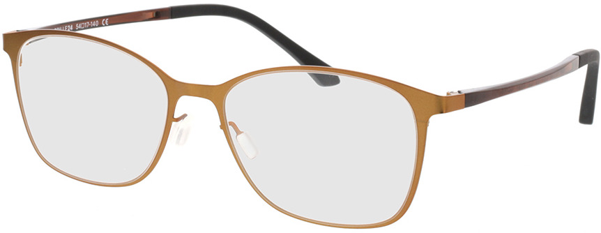 Picture of glasses model Lorne-kupfer in angle 330