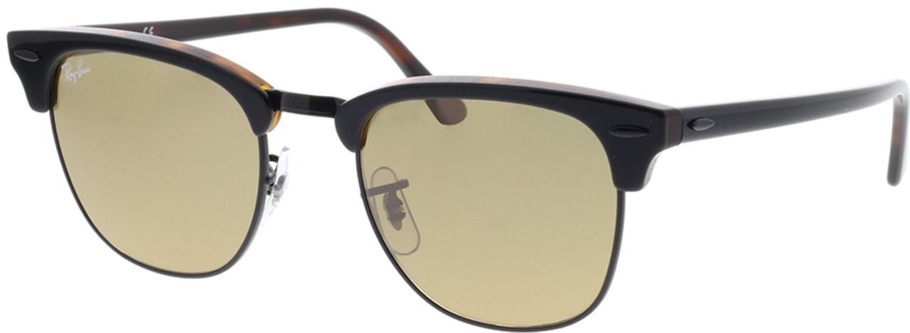 Picture of glasses model Ray-Ban Clubmaster RB3016 12773K 51-21 in angle 330