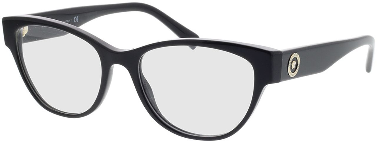 Picture of glasses model Versace VE3287 GB1 53-17 in angle 330