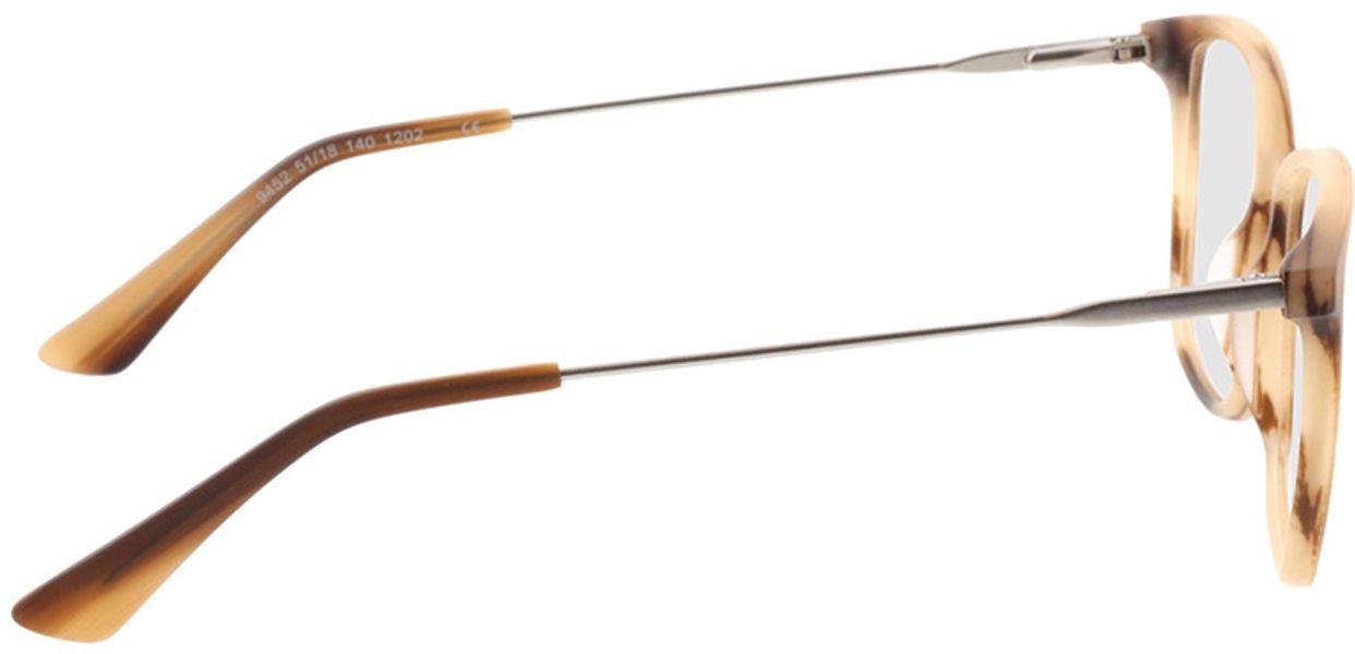 Picture of glasses model Lazio-braun-meliert/silber in angle 90