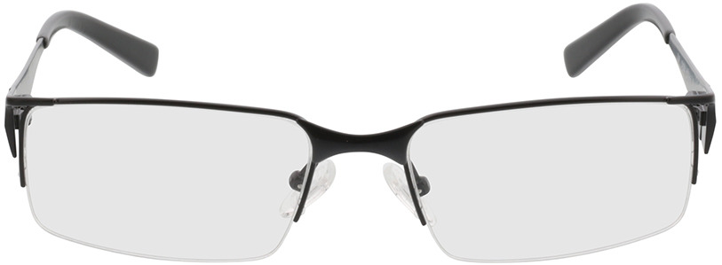 Picture of glasses model Egedal-schwarz in angle 0