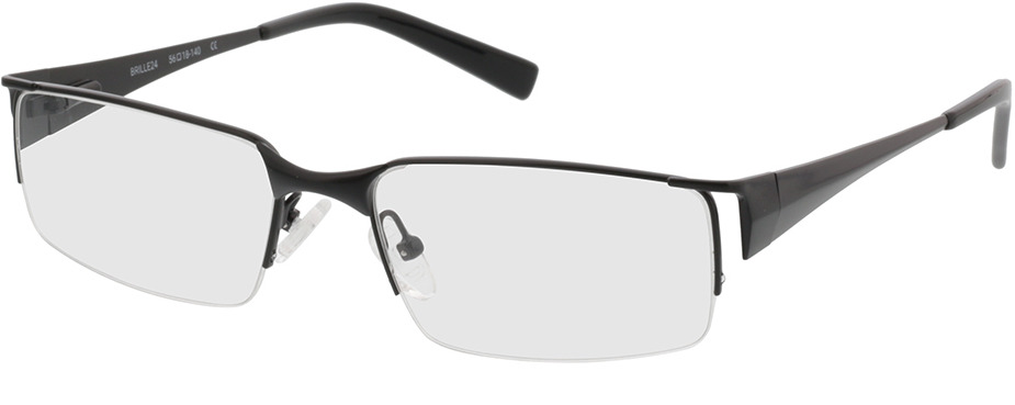 Picture of glasses model Egedal-schwarz in angle 330