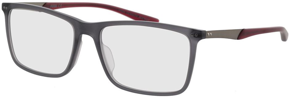 Picture of glasses model Puma PU0096O-008 56-17 in angle 330