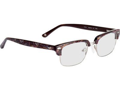 Brille Treviso-braun/lila marmoriert